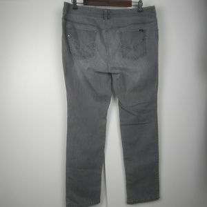 Chico's So Slimming grey jeans size 2 short (12)